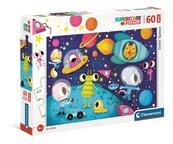 Puzzle 60 Maxi Super Kolor Outer Space