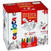 Zestaw puzzli do rysowania Adventures 36 kolorów
