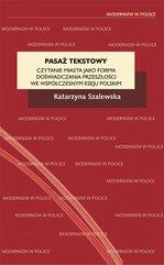 Pasaż tekstowy. Czytanie miasta jako forma doświadczania przeszłości we współczesnym eseju polskim