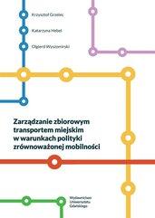 Zarządzanie zbiorowym transportem miejskim..