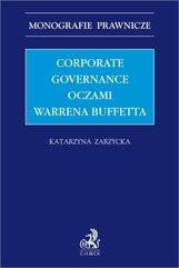 Corporate governance oczami Warrena Buffetta