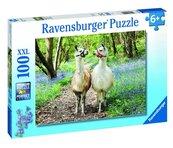 Puzzle 100 Przyjaźń zwierząt XXL