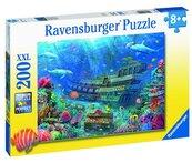 Puzzle 200 Zatopiony statek XXL