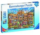 Puzzle 150 Widok na zamek rycerski XXL