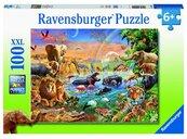 Puzzle 100 Studnia w dżungli XXL