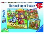 Puzzle 3x49 Rycerze