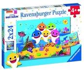 Puzzle 2x24 Baby Shark