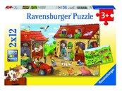 Puzzle 2x12 Życie na wsi