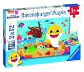 Puzzle 2x12 Baby Shark