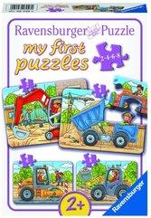 Puzzle zestaw Plac budowy