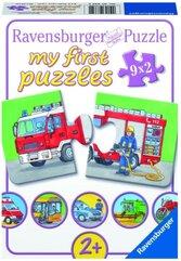 Puzzle 9x2 Pojazdy