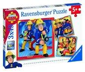 Puzzle 3x49 Strażak Sam na ratunek!