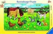 Puzzle 15 Zwierzęta domowe