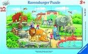 Puzzle 15 Wycieczka do zoo