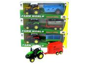 Traktor z przyczepą w pudełku p12 HIPO mix Cena za sztukę