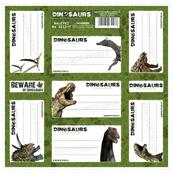 Nalepki na zeszyty Dinozaur p50. DERFORM