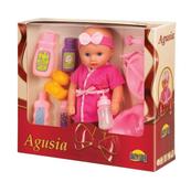 Lalka Agusia pije i siusia w pud. DROMADER