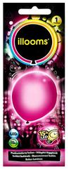 Balony LED - różowe 1pak 80052 TM TOYS