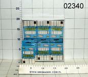 Kreda tablicowa biała 12szt p24 niepyląca TR-21156,cena za 1op