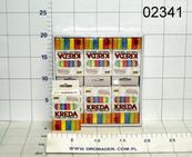Kreda tablicowa kolorowa 12szt niepyląca p12TR-21157