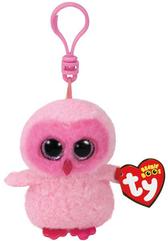 TY BEANIE BOOS różowa sowa Twiggy 8,5cm 35039