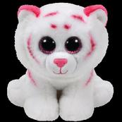 TY BEANIE BABIES TABOR - różowo-biały tygrys 15cm 42186