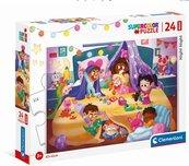 Puzzle 24 Maxi Super Kolor Nighty Night