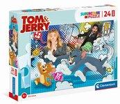 Puzzle 24 Maxi Super Kolor Tom&Jerry