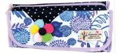 Piórnik kosmetyczka z kwiatkiem EM 4830