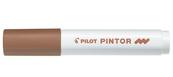 Marker Pilot permanentny PINTOR M brązowy