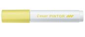Marker Pilot permanentny PINTOR M pastelowy żółty