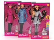 Lalka Defa Lucy w płaszczu 419759