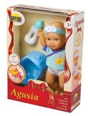 Lalka Agusia pije i siusia 02507