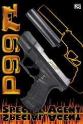 PROMO Pistolet P99 Special Agent 25-shot 180mm 0473