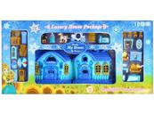 Domek dla lalek światło i dżwięk + akcesoria 87x43x9 BS899-12F MC