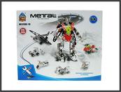 Pojazdy/robot matalowe do składania 315el.w pud. 898E-10