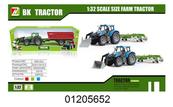 Traktor z przyczepą w pudełku 1205652
