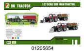 Traktor z przyczepą w pudełku 1205654