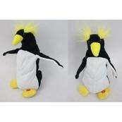 Pingwin z żółtymi włosami na bat.1001794