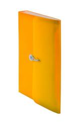 Teczka harmonijkowa PP z gumką (13) A4 pomarańczowa