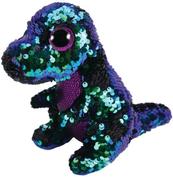 TY BOOS Flippables CRUCH - dinozaur cekinowy 15cm 36260