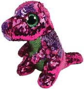 TY BOOS Flippables STOMPY - dinozaur cekinowy 15cm 36262 TY