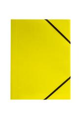 Teczka A4 z gumką narożną limonka p6, cena za 1szt.