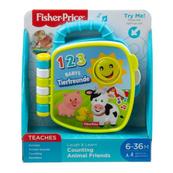 Fisher-Price Książeczka liczymy zwierzątka GFP31 MATTEL Laugh & Learn