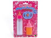 Zestaw dla lalki butelki x2 + smoczek blister 491625 ADAR