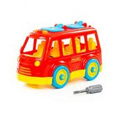 """Polesie 71248 Klocki-transport """"Autobus"""" w siatce"""