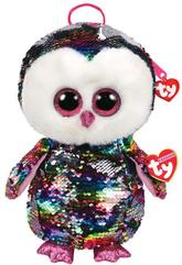 TY Fashion Sequins OWEN - cekinowy plecak sowa 95023