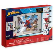 PROMO Dekoracje ścienne 3D Spider-Man 44586 121,92x152,4cm p12 Walltastic