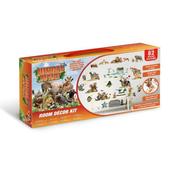 PROMO Zestaw naklejek do dekoracji pokoju Dżungla Safari 45439 34x46cm p12 Walltastic
