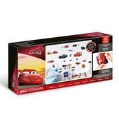 PROMO Naklejki ścienne zestaw Cars 45576 34x46cm p12 Walltastic Disney